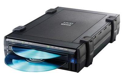 I-O Data's dual DVD-writer: still PC-less but faster than ever