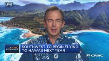Hawaiian Airlines CEO shrugs off 'Southwest Effect' as budget carrier plans to enter market