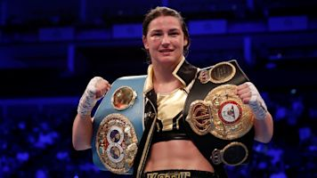 Katie Taylor trying to cap off dominant 2018