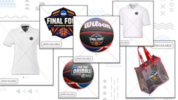 Where does all the unused Final Four stuff go?