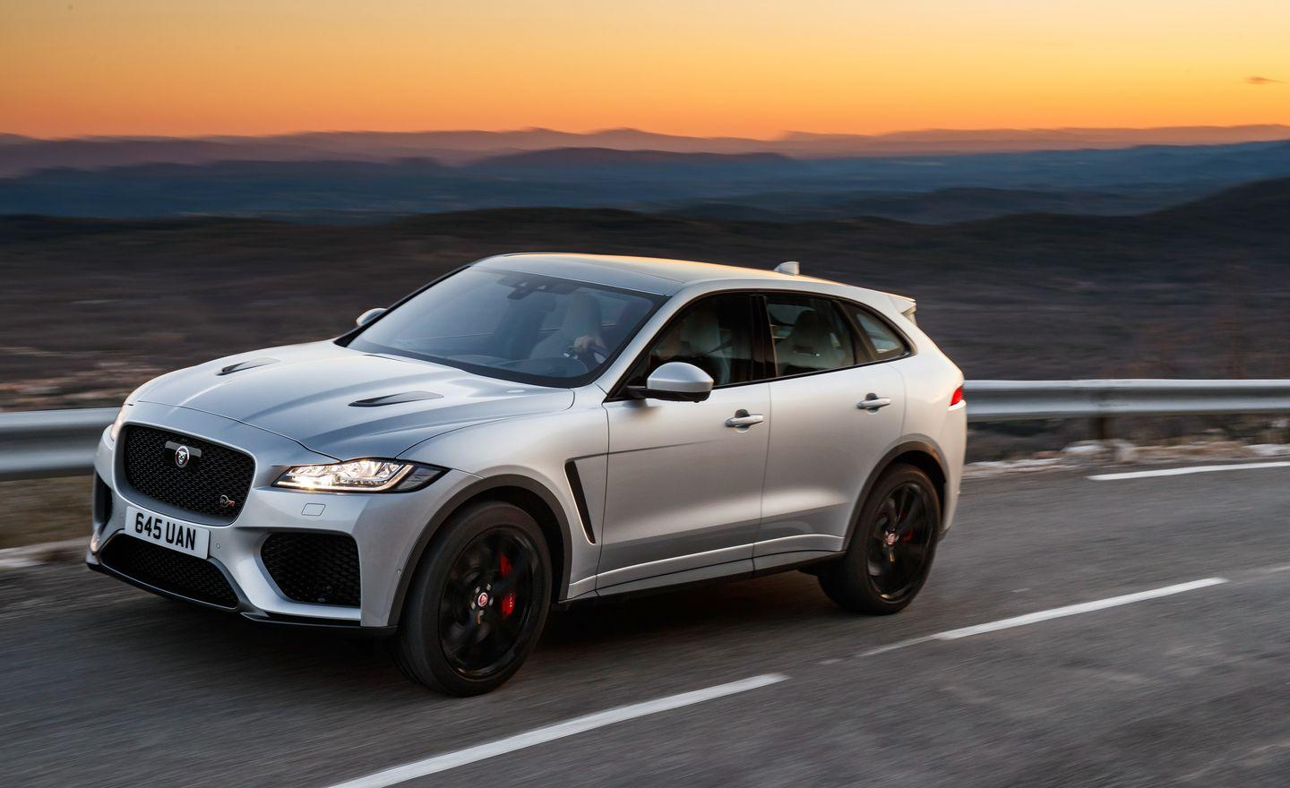 The 2020 Jaguar F Pace Svr In Photos