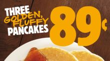 BURGER KING® Restaurants Guests Will Flip over Its 89 Cent Pancakes Promotion