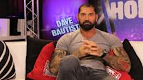 'Guardians of the Galaxy' Star Dave Bautista on Being Intimidating