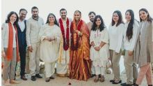 Here Are Few Group Pictures from Ranveer and Deepika's Wedding