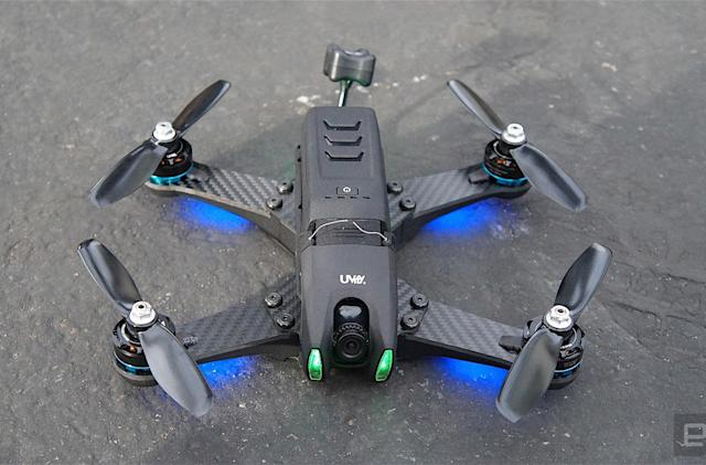 UVify's Draco drone is a racing quad for everyone