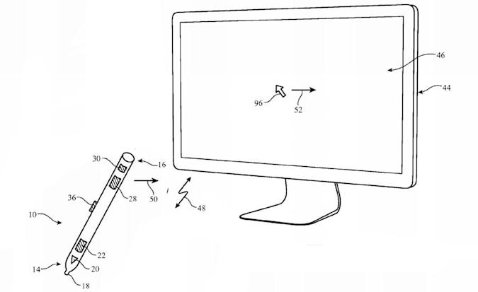 Apple patents stylus that doubles as a joystick, air mouse