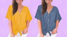 Amazon's 'ridiculously comfortable' summer blouse is down to $21 — it's 50 percent off!