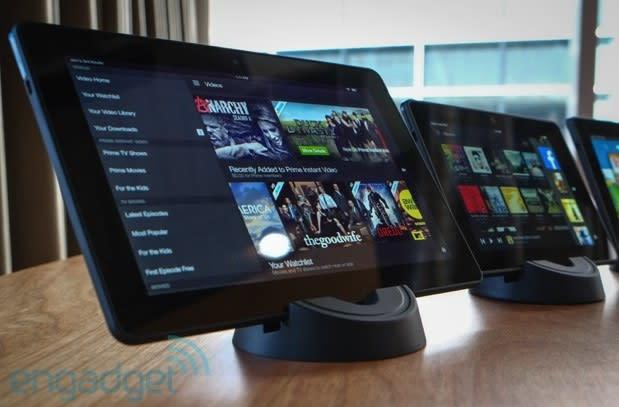 Amazon brings Verizon LTE to Kindle Fire HDX
