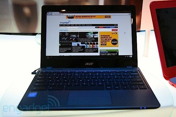 New Acer Chromebook with Haswell hands-on (video)