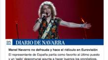 """El """"mejor"""" titular sobre el gallo de Manel en Eurovisión"""