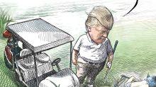 """Zeitungs-Karikaturist aufgrund von Donald-Trump-Satire """"gefeuert"""""""