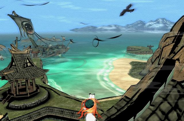 Relive your best wolfy Zelda moments with 'Okami' remaster