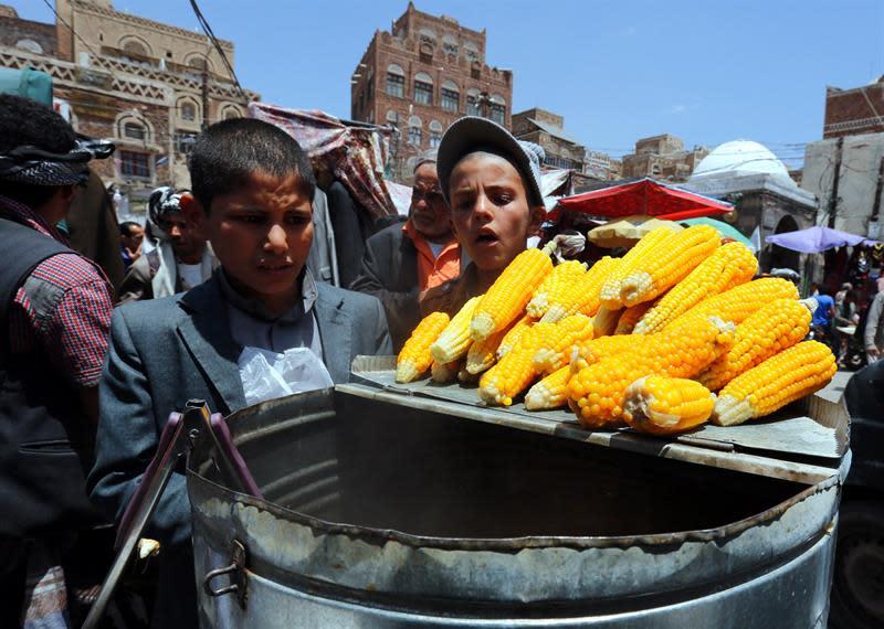 Resultado de imagen para Millones de niños en riesgo de hambre mientras la situación empeora en Yemen