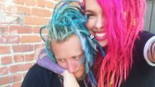 White couple with dreadlocks proudly celebrate '2 years of Cultural Appropriating'