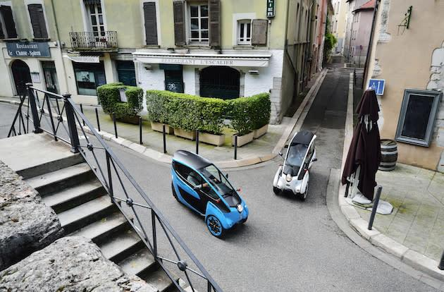 Toyota tests ride-sharing with its adorable electric vehicles