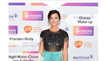 Look des Tages: Lucy Mecklenburgh im semitransparenten Paillettentop