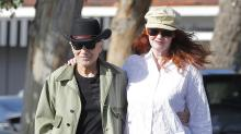 Robert Blake and Fiancée Stroll Arm in Arm Ahead of Their Wedding