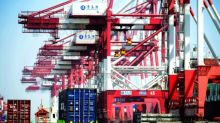 US trade deficit edges lower in March