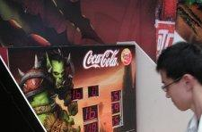 World of Warcraft and Coke Whack-a-Mole