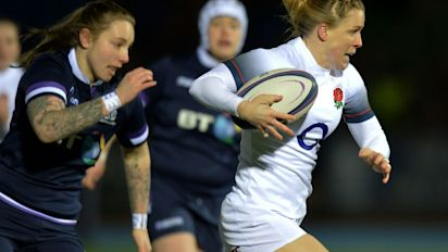 Scotland 8 England 43: Danielle Waterman makes Scots suffer as visitors cruise to victory