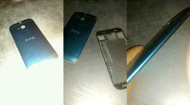 Alleged HTC One successor leaked, may pack fingerprint reader above camera