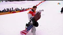 Internet explodes after Shaun White drags American flag on ground
