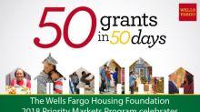 Wells Fargo Housing Foundation Announces $6 Million in Neighborhood Revitalization Grants