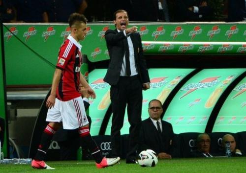 Massimiliano Allegri protagonizó un altercado con Filippo Inzaghi, mítico exatacante del club y actualmente DT de juveniles