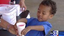 Boy with rare disorder sells lemonade to help others