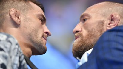 Why isn't Conor-Poirier fight for lighweight title?