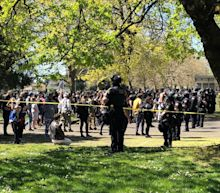 A Portland police officer fatally shot a man near a city park