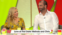 Melinda Messenger introduces her 'First Dates' boyfriend to the 'Loose Women' panel