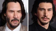 Twitter-User amüsieren sich über die Ähnlichkeit von Keanu Reeves und Adam Driver