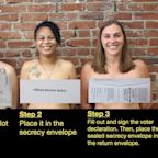 Pa. Lawmakers Go Topless to Promote Proper Mail-in Voting: 'Desperate Times!'