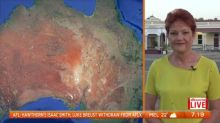Pauline Hanson ditches Canberra for flood victims