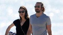 Bradley Cooper and Pregnant Irina Shayk Show PDA on Romantic Beach Picnic: Pics!