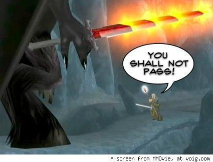 All the World's a Stage: Raiding and RP don't mix, or do they? -- A question of continuity.
