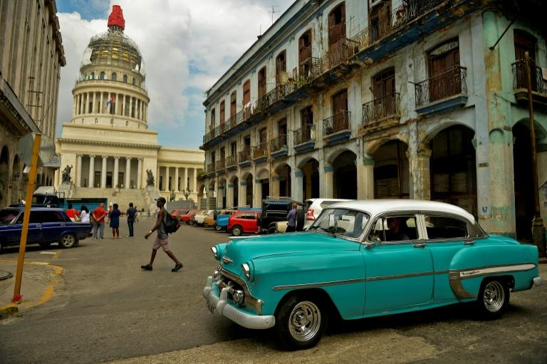The Cuban Capitol building in Havana is pictured in August 2019