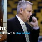 Danny Ainge's politician son Tanner lobbies for Gordon Hayward to stay in Utah