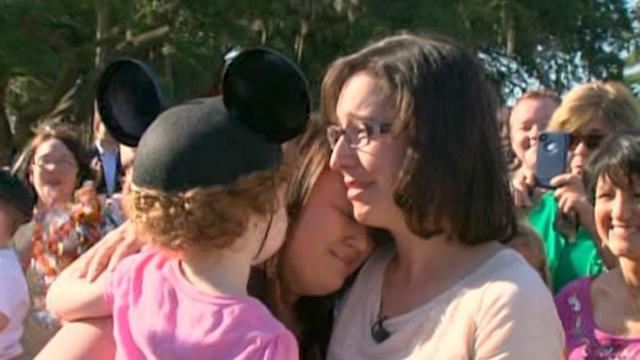 Mom Unites With Marrow Donor Who Saved Her Child