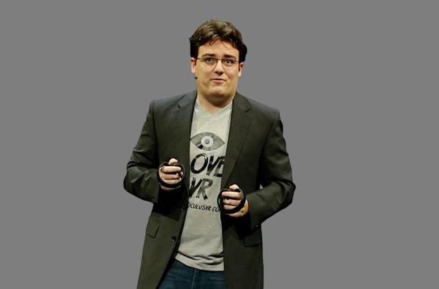 Facebook reportedly pressured Palmer Luckey to support a politician