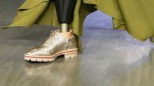 Amputee models walked the runway at London Fashion Week