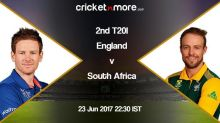 South Africa post 174/8 in Second T20I against England