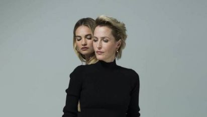 Gillian Anderson and Lily James to star in West End version of All About Eve with music from PJ Harvey