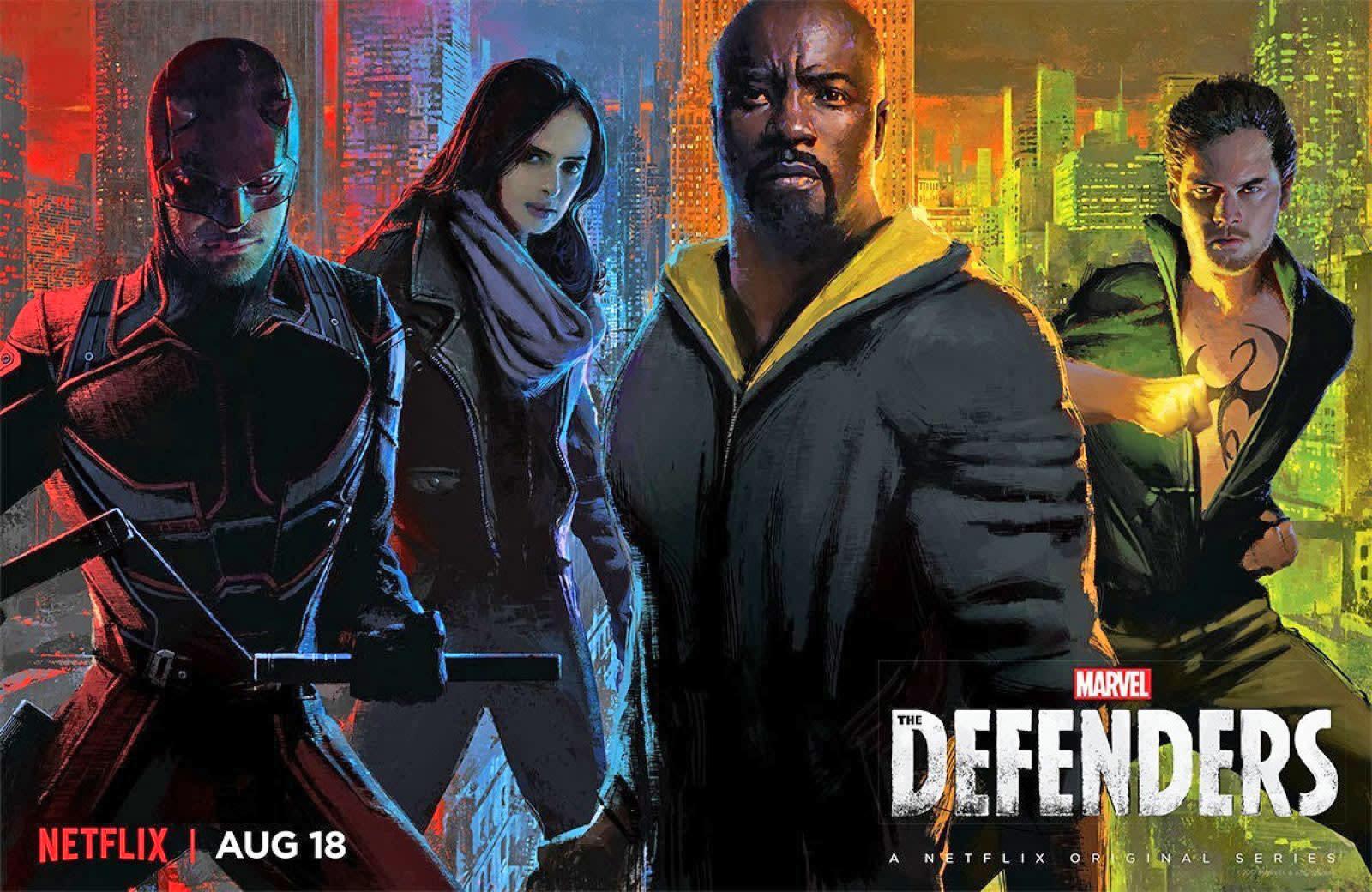 Marvel's Defenders probably won't return on TV until 2020 | Engadget