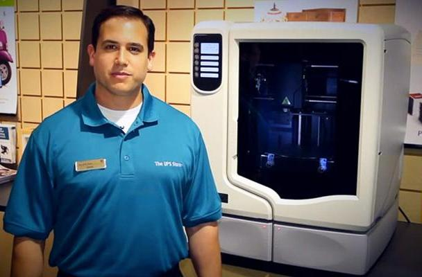 UPS now lets you use 3D printers in nearly 100 US stores