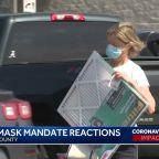 Mask mandate goes into effect Monday