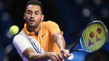 Kyrgios wraps up tennis season in Moscow