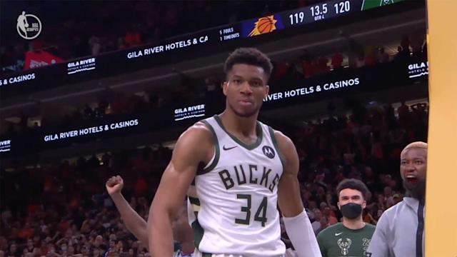 NBA Finals: Giannis Antetokounmpo, Bucks win wild Game 5