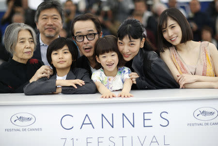 Japanese movie 'Shoplifters' wins Cannes Palme d'Or